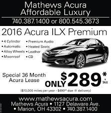 original images jpg mathews acuraaffordable luxury740 387 1400 or 800 545 36732016 acura ilx premiumoh 0001106087 4 cylinder