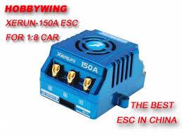 <b>Бесколлекторный регулятор</b> скорости <b>Hobbywing</b> XERUN 80A ...