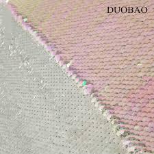 DUOBAO <b>Mermaid</b> Reversible 5mm <b>Sequin</b> Fabric Gold to <b>Silver</b> ...
