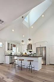 kitchens with vaulted ceilings lighting google search ceiling light sloped lighting im