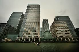 the global financial crisis   photo essays   time a sculpture of a sinking yacht sits under the sky scrapers of canary wharf on september