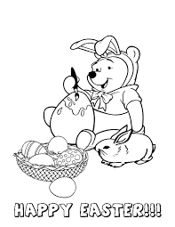 Small Picture Hello Kitty Bear Balloon Eggs Easter Coloring Page H M