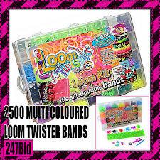 <b>LOOM TWISTER</b> BANDS Fun <b>Loom</b> Kit - 1000 Bands - £4.99 ...