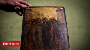 Cimabue: Long-lost €6m <b>artwork</b> found in elderly <b>woman's</b> kitchen ...