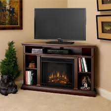 furniture charming flametec corner electric fireplace heater under brown wooden picture frames also black bear wood charming shag rugs