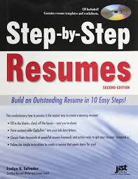 step by step resumes build an outstanding resume in easy steps step by step resumes build an outstanding resume in 10 easy steps 2nd ed evelyn u salvador 9781593577780 com books