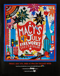 4th of July Firework Show - Macy