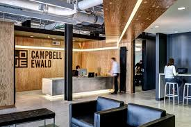 lowe campbell ewald office by neumann smith detroit us ad agency surprising office