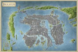 the lands of ice and fire the maps of game of thrones braavos map game thrones