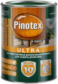 <b>Декоративная Пропитка</b> Pinotex Ultra 9л с Воском для <b>Защиты</b> ...