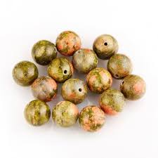 Купить <b>бусины</b> из <b>Унакита</b> в интернет-магазине Минерал-Маркет!