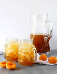 <b>Apricot Sparkling</b> Tea - The Wheatless Kitchen