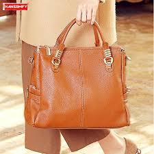 <b>2019 New</b> genuine leather <b>Women</b> handbag soft <b>Cowhide</b> leather ...