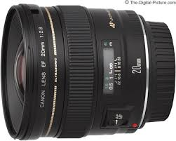<b>Canon EF 20mm f/2.8</b> USM Lens Review