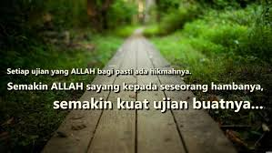 Image result for ujian allah