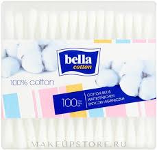 Ватные палочки прямоугольные, 100шт - Bella ... - MAKEUP