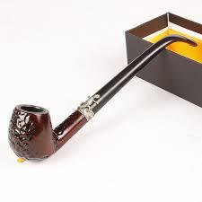 <b>Acrylic wood grain color</b> narrow pipe, 23.5 CM long metal pipe ...