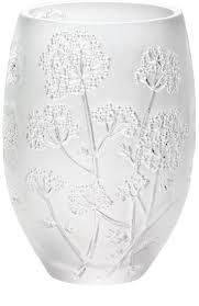 ваза декоративная white cristal 38 см синий