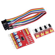 <b>4CH Channel Infrared Tracing</b> Module Patrol Four-way Sensor For ...