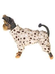 """<b>Комбинезон</b> для собак """"<b>Конфетти</b>"""" бежевый <b>Happy Puppy</b> ..."""
