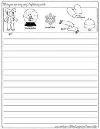 Story Starters for Kids and Blank Creative Writing Templates Monkey picture prompt