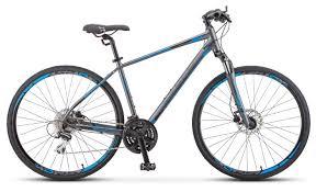 Горный гибрид <b>STELS Cross 150</b> D Gent 28 V010 (2020) — купить ...