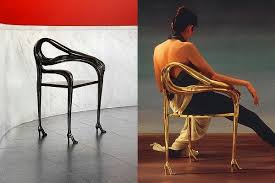 the spanish design company has the legal right to produce in small series the artistic furniture designed by the two famous artists artistic furniture
