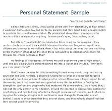 Sample Personal Statement Format      Examples in PDF  Word EARfoon Personal statement