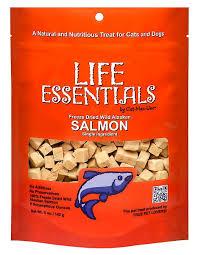 <b>Life Essentials</b> Wild Alaskan Salmon <b>Freeze</b>-Dried Cat & Dog Treats ...