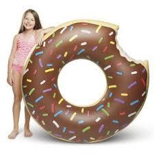Купить «<b>Круг надувной</b> Шоколадный пончик» (<b>Big Mouth</b>) по цене ...