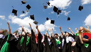 do these things now to thrive after graduation university of medical university graduates throw up mortarboards during the celebration of their graduation in minsk what experiences in college make