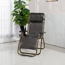 outdoor folding chair elderly home office recliner armchair single camp bed settee couch lazy portable camp bed office
