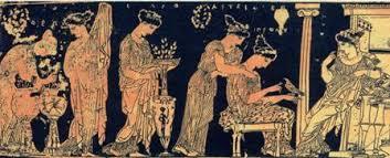 Risultati immagini per donna greca antica