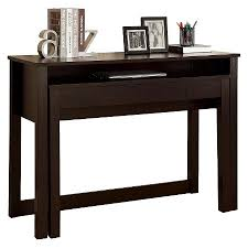 computer desk brown 48 monarch specialties baybrin rustic brown home office small