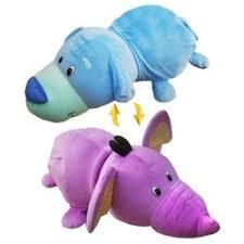 <b>Мягкая игрушка 1 TOY Вывернушка</b> Голубой щенок-Фиолетовый ...