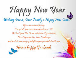 Happy New Year Message quotes for friends and Family | PIXHOME