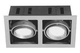 <b>Светильник</b> встраиваемый <b>Premium</b> Cardano 2x11W GU10 титан