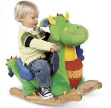 one step ahead plush rocking horse baby nursery cool bee animal rocking horse