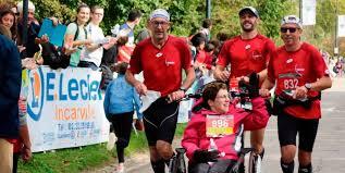 Le 15e marathon Seine-Eure a permis à une vingtaine de coureurs de participer en fauteuil