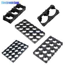 1X2 <b>1X3</b> 3X5 3x6 4x5 <b>Cell</b> Spacer Holder <b>18650</b> Lithium <b>Battery</b> ...