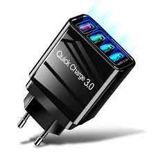<b>OLAF</b> Quick Charge <b>3.0 USB</b> Charger EU/US/UK Plug Wall Mobile ...