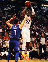 "DEANDRE <b>AYTON</b> Autographed ""NBA Debut 10/17/18"" 16"" x 20 ..."