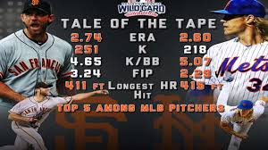 tale of the tape bumgarner vs syndergaard mlb com tale of the tape aces battle in nl wild card game