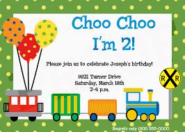 9 train birthday invitations for kid printable templates train birthday invitations