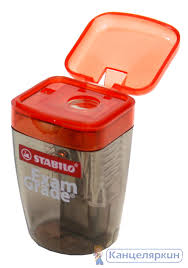 <b>Точилка</b> с контейнером <b>Stabilo</b> Exam Grade 4518- выгодные ...