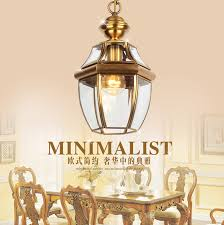 free shipping 1 pcs balcony antique pendant light copper vintage pendant lamps bar corridor outdoor antique pendant lighting