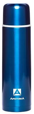 Купить Классический <b>термос Арктика</b> 102-1000 (1 л) синий по ...