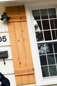 Diy Wood Shutters Julie Blanner Entertaining Home Design That
