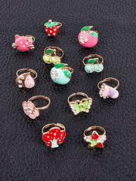 Кольцо детское/<b>кольца для девочек</b>, набор 12 шт. Hello Trendy ...