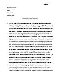 Essay topics crime and punishment    Elderly care resume samples An essay on crimes and punishments